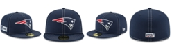 New Era New England Patriots On-Field Sideline Road 59FIFTY-FITTED Cap