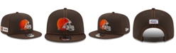 New Era Cleveland Browns On-Field Sideline Road 9FIFTY Cap