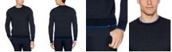 Perry Ellis Men's Regular-Fit Grid Sweater