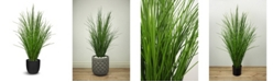 """Le Present Artificial Potted Grass 47"""""""