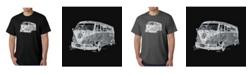 LA Pop Art Men's Word Art T-Shirt - The 70's