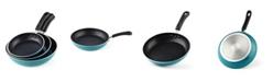 Cook N Home Nonstick Saute Skillet, 3-Piece Fry Pan Set, Model 02611