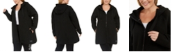 Calvin Klein Plus Size Hooded Warm-Up Jacket