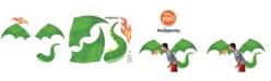 WallPops Soaring Dragon Wall Art Kit