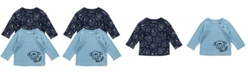 Mac & Moon Baby Boy 2-Pack Raglan Tees