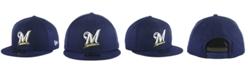 New Era Milwaukee Brewers Basic 9FIFTY Snapback Cap