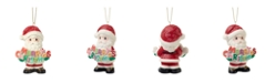 Ne'Qwa Precious Moments 191020 Merry Christmas To All 11th Annual Santa With Merry Christmas Bisque Porcelain Christmas Ornament