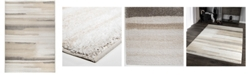 """Palmetto Living Mystical Modern Motion Natural 5'3"""" x 7'6"""" Area Rug"""