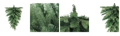 Northlight Coniferous Mixed Pine Artificial Christmas Teardrop Swag - Unlit
