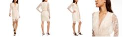 SHO Metallic-Star Sheath Dress