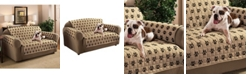 P/Kaufmann Home Pet Pals Paw Print Loveseat Furniture Protector