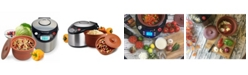 VitaClay Smart Organic Digital Express - A Rice Slow Cooker, A Digital Steamer and A Yogurt Maker, 4.2 QT