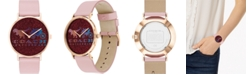 COACH Women's Rexy And Carriage Perry Leather Strap Watch 36mm