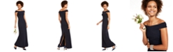 Adrianna Papell Knit Crepe Gown