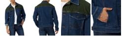 Wrangler Men's Color-Block Denim Trucker Jacket