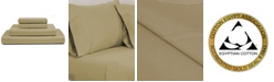 AURAA RENAURAA Luxury Solid King Sheet Set