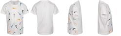 Nike Little Boys Cotton Multi-Color Swoosh Toss T-Shirt