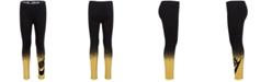 Nike Toddler Girls Metallic-Print Leggings