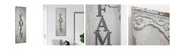 Crystal Art Gallery American Art Decor Vintage-like Wood Family Sign