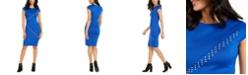 Thalia Sodi Studded Scuba Dress, Created For Macy's