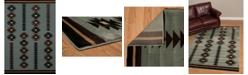 "Asbury Looms Designer Contours Cem Painted Arrow 511 31460 35C Blue 2'7"" x 4'2"" Area Rug"