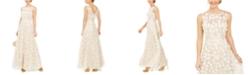 Eliza J Embellished Floral Gown
