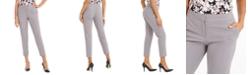 Nine West Cropped Mid-Rise Slim-Fit Pants