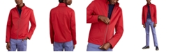Brooks Brothers Men's Red Fleece Bomber Jacket