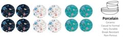 Lenox Sprig & Vine Accent Plate Set/4