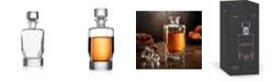 JoyJolt Carina Crystal Whiskey Decanter, 25.3 Oz