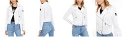 Calvin Klein Jeans Canvas Moto Jacket
