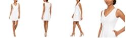 Taylor Petite Sleeveless Fit & Flare Dress