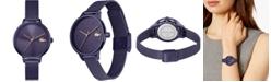 Lacoste Women's Swiss Cannes Purple Stainless Steel Mesh Bracelet Watch 34mm