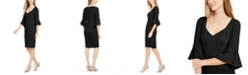 Calvin Klein Petite V-Neck Sheath Dress