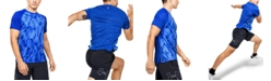 Under Armour Men's Qualifier Iso-Chill Printed Run Short Sleeve
