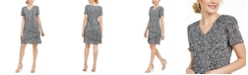 Connected Petite Tiered Dress