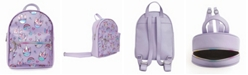 OMG! Accessories Toddler, Little and Big Kids Miss Gwen Rainbows Hologram Printed Mini Backpack