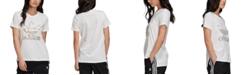 adidas Women's Cotton Metallic-Accent T-Shirt