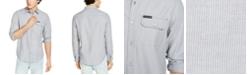 Calvin Klein Jeans Calvin Klein Men's Long Sleeve Chambray Stripe Shirt
