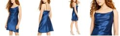 bebe Juniors' Cowlneck Slip Dress