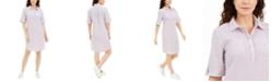 Karen Scott Seersucker Shirtdress, Created for Macy's