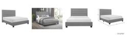 Homelegance Kerren Upholstered Bed - King