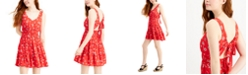 City Studios Juniors' Tiered Tie-Back Dress