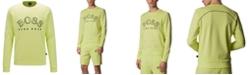 Hugo Boss BOSS Men's Salbo Cotton-Blend Sweatshirt