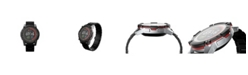 PowerWatch Men's Series 2 Premium Black Stainless Steel Bracelet Watch 47mm