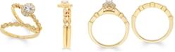 Macy's Diamond Bridal Set (3/8 ct. t.w.) in 14k Gold