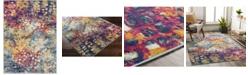 "Abbie & Allie Rugs Floransa FSA-2335 Blue 6'7"" x 9' Area Rug"
