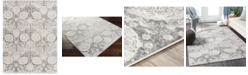 """Abbie & Allie Rugs Roma ROM-2311 Charcoal 6'7"""" x 9' Area Rug"""