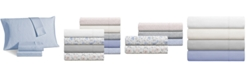 Sunham Avalon 500 Thread Count Sateen 6-Pc. King Sheet Set
