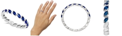 LALI Jewels Sapphire Marquise Band (3/4 ct. t.w.) in 14k White Gold